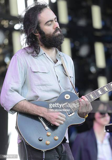 Gabriel Rodriguez of Cults performs as part of the 2013 Voodoo Music Experience at City Park on November 2 2013 in New Orleans Louisiana