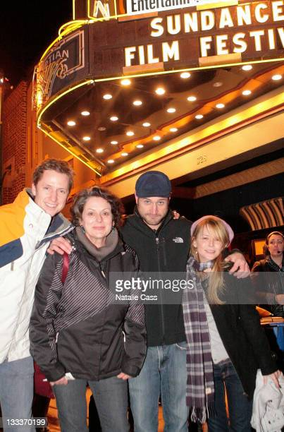 Gabriel Rose Director Paul Solet and Jordan Ladd attends the premiere of 'Grace' during the 2009 Sundance Film Festival at the Egyptian Theatre on...