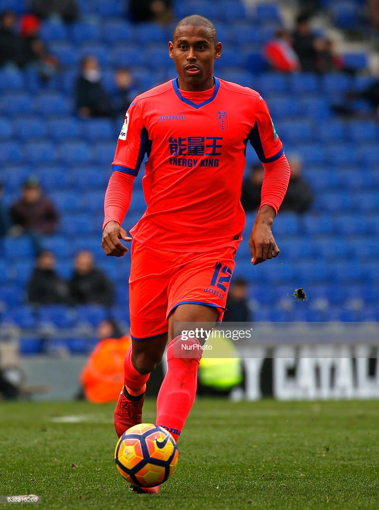 Gabriel Silva during the match between RCD Espanyol and Granada CF, on January 21, 2017.