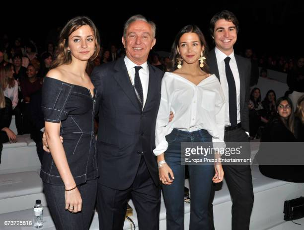 Gabriela Palatchi Gallardo Alberto Palatchi Ribera Marta Palatchi Gallardo and Alberto Palatchi Gallardo attend the Studio St Patrick show during...