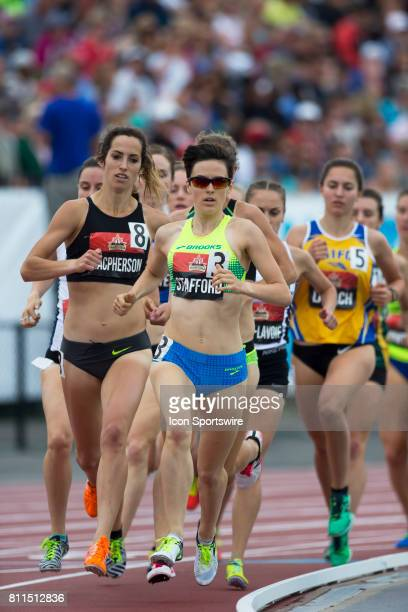 Gabriela Stafford in the 1500m semifinals at the Canadian Track and Field Championships on 8 July 2017 at the Terry Fox Athletic Facility in Ottawa...
