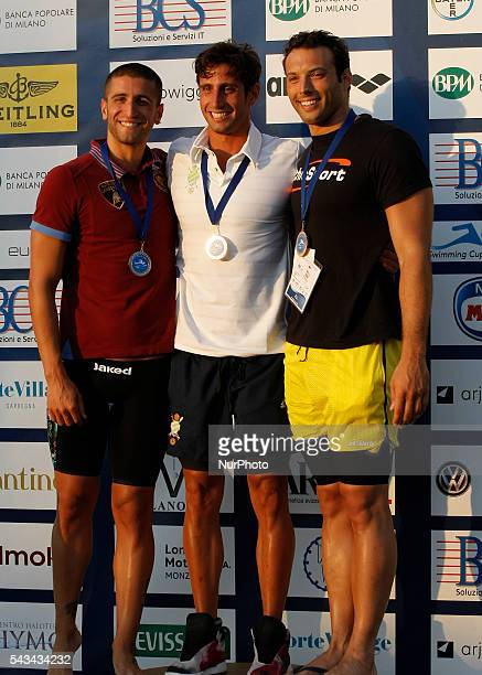Gabriele Detti during the Swimming Cup 2016 at the Aspria Harbour Club of Milan on june 28 2016 in Milan Italy
