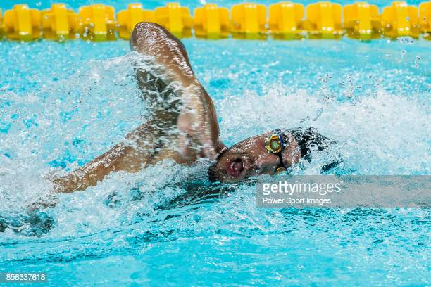 Gabriele Detti of Italy during the FINA Swimming World Cup Men's 1500m Freestyle Final on October 01 2017 in Hong Kong Hong Kong