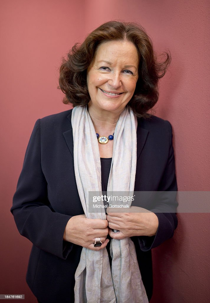 Gabriele Eick, former director of Communication of Dresdener Bank Group, poses during a Portrait Session on September 13, 2013 in Frankfurt, Germany.