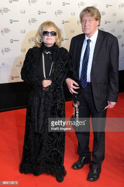 Gabriele Henkel and Claus Grossner attend the HenriNannenAward at the Schauspielhaus on May 7 2010 in Hamburg Germany