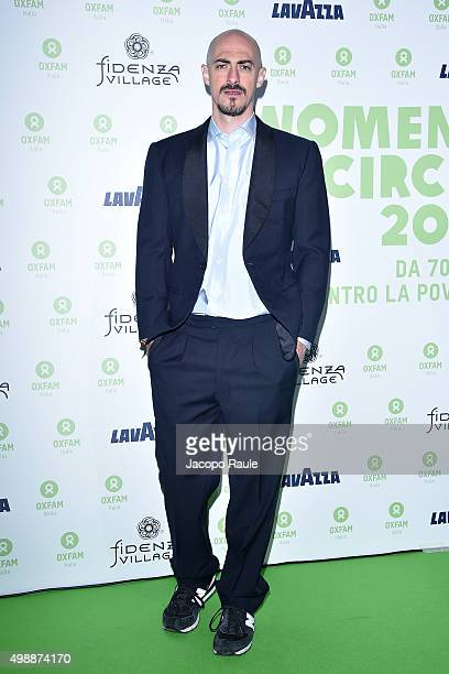 Gabriele Moratti attends a photocall for Women's Circle 2015 OXFAM Charity Benefit on November 26 2015 in Milan Italy