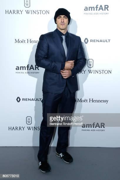 Gabriele Moratti attends the amfAR Paris Dinner 2017 at Le Petit Palais on July 2 2017 in Paris France
