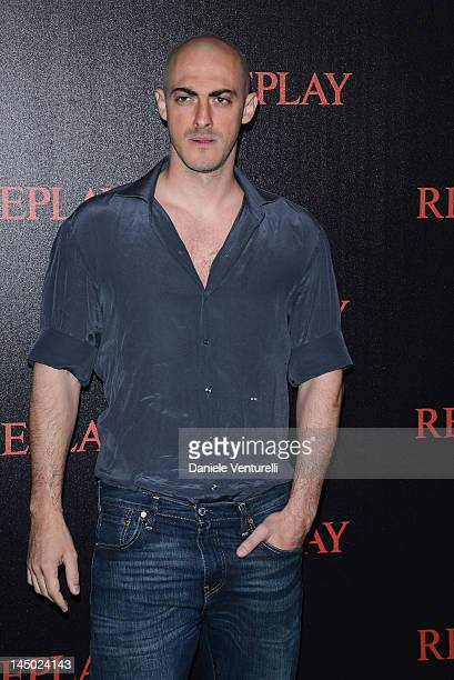 Gabriele Moratti attends the Replay Party during the 65th Annual Cannes Film Festival at Palais des Festivals on May 22 2012 in Cannes France