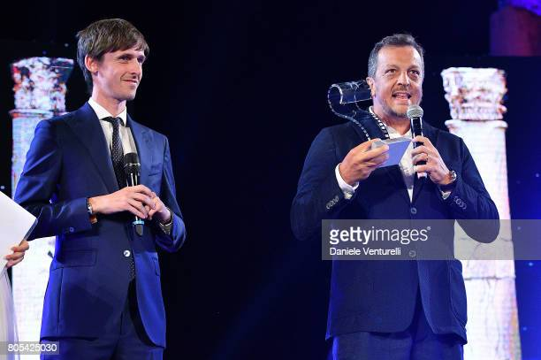 Gabriele Muccino attends Nastri D'Argento 2017 Awards Ceremony on July 1 2017 in Taormina Italy