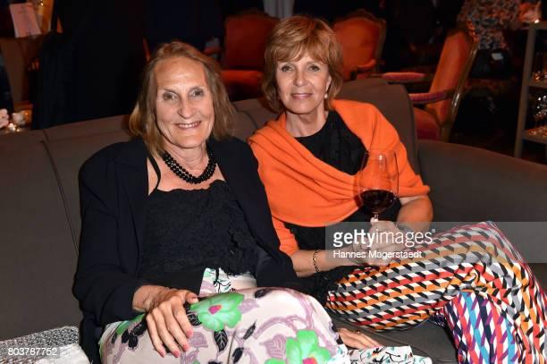 Gabriele Sperl and Ulrike Kriener attend the Bernhard Wicki Award 2017 during the Munich Film Festival 2017 at Bayerischer Hof on June 29 2017 in...