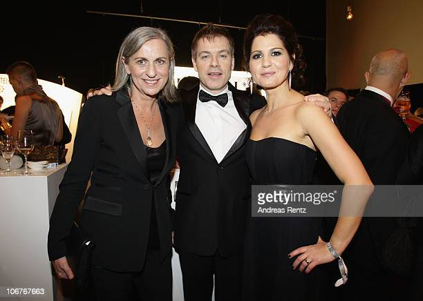 Gabriele Strehle Michael and Gudrun Mittermeier attend the Bambi 2010 Award After Show Party at Filmpark Babelsberg on November 11 2010 in Potsdam...