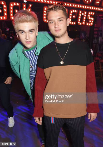 GabrielKane DayLewis and Rafferty Law attend the Tommy Hilfiger TOMMYNOW Fall 2017 Show during London Fashion Week September 2017 at The Roundhouse...