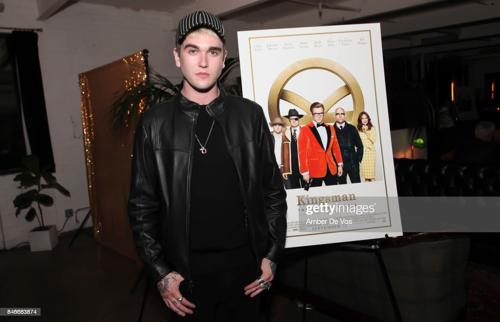 Gabriel-Kane Day-Lewis attends a special screening of the new film 'Kingsman The Golden Circle' at Metrograph on September 13, 2017 in New York City.