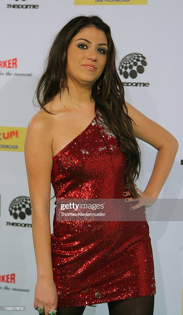 Gabriella Cilmi arrives at 'The Dome 54' at the Hanns-Martin Schleyer Halle on May 20, 2010 in Stuttgart, Germany.