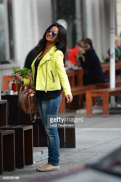 Gabriella De Almeida Rinne is seen on September 11 2014 in Berlin GermanyPhoto Luca Teuchmann/GC Images