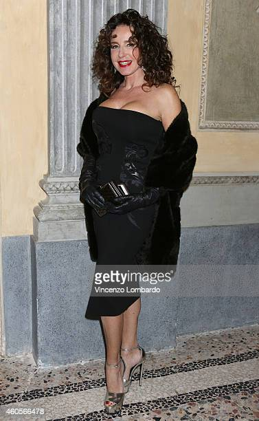 Gabriella Dompe attends the 'Fondazione IEO CCM' Christmas Dinner For on December 16 2014 in Monza Italy