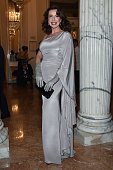 Gabriella Dompe attends the Teatro Alla Scala 2014/15 season opening on December 7 2014 in Milan Italy