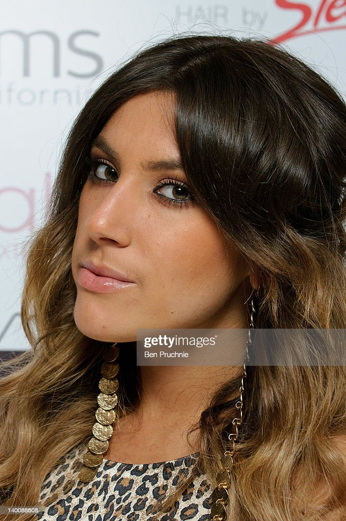 Gabriella Ellis attends The Hair Awards 2012 at Millbank Tower on February 27, 2012 in London, England.