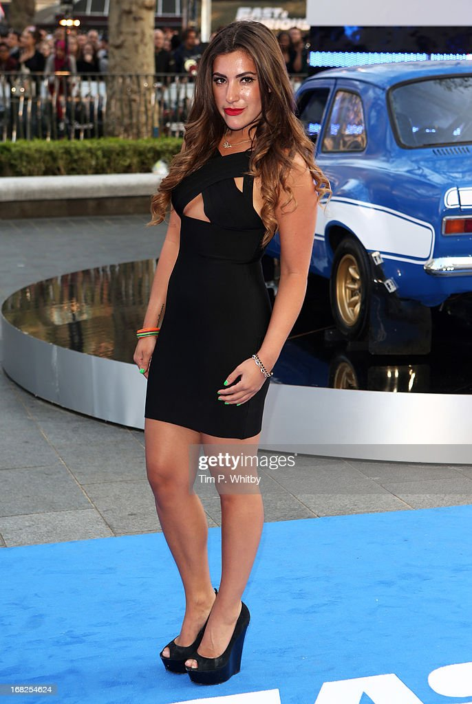 Gabriella Ellis attends the World Premiere of 'Fast & Furious 6' at Empire Leicester Square on May 7, 2013 in London, England.