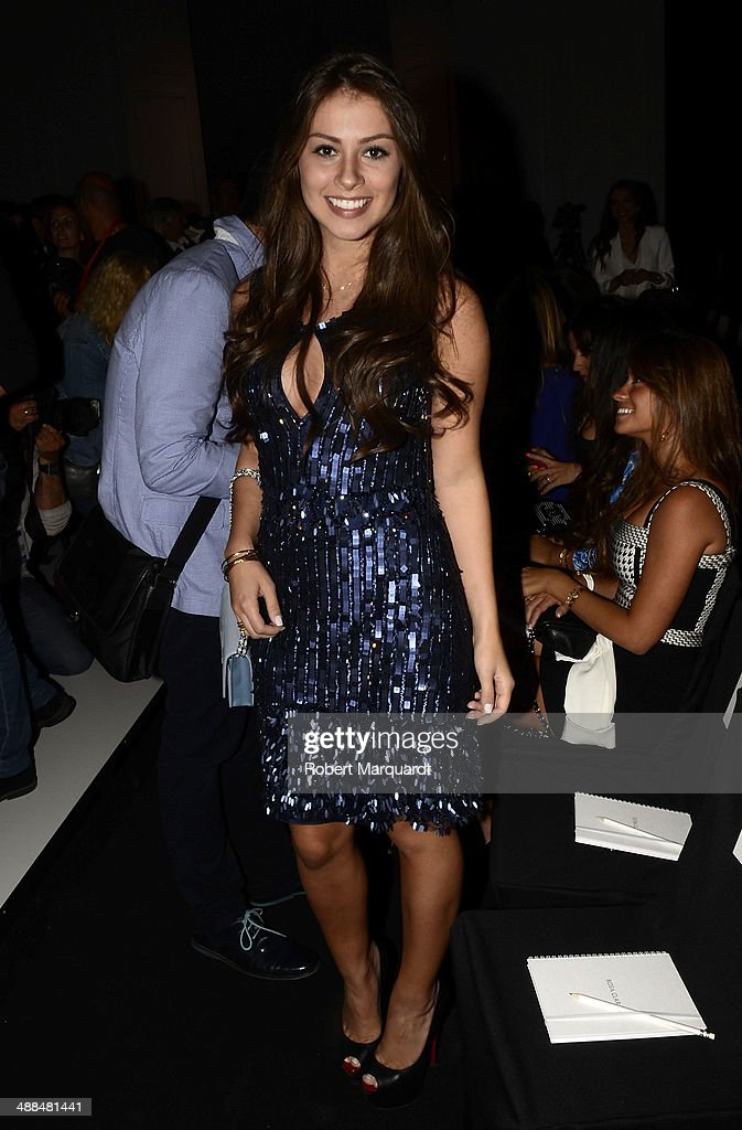<a gi-track='captionPersonalityLinkClicked' href=/galleries/search?phrase=Gabriella+Lenzi&family=editorial&specificpeople=12789083 ng-click='$event.stopPropagation()'>Gabriella Lenzi</a> attends the Rosa Clara fashion show during 'Barcelona Bridal Week 2014' on May 6, 2014 in Barcelona, Spain.