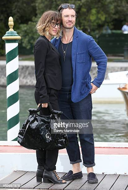 Gabriella Pession and guest attends day 4 of the 72nd Venice Film Festival on September 5 2015 in Venice Italy