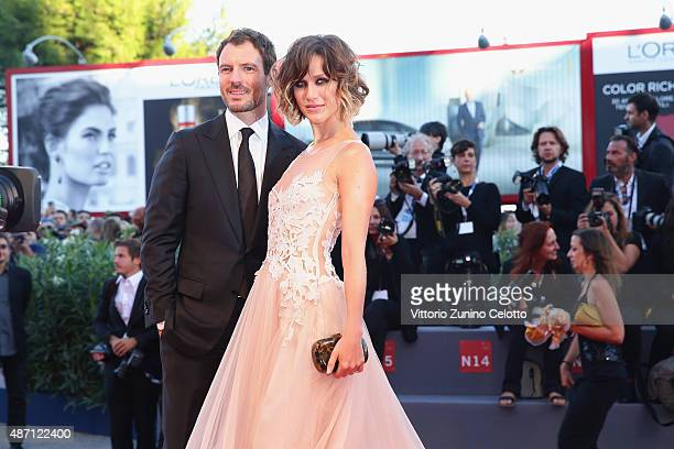 Gabriella Pession and Richard Flood attend the Kineo Awards ceremony during the 72nd Venice Film Festival at on September 6 2015 in Venice Italy
