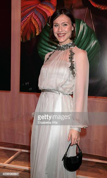 Gabriella Pession attends the Children for Peace Benifit Gala at Spazio Novecento on November 28 2014 in Rome Italy