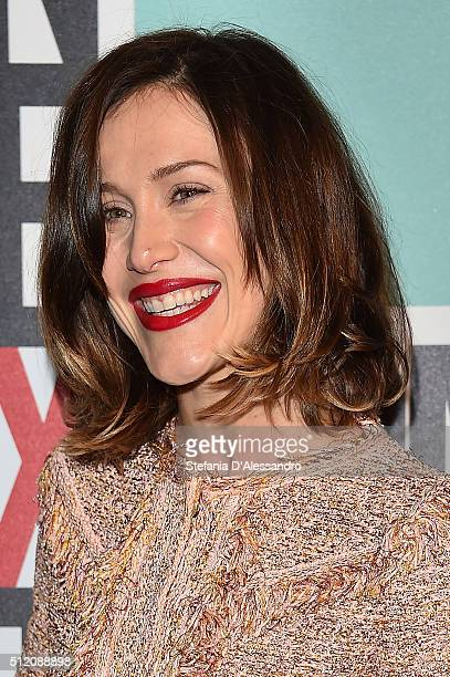 Gabriella Pession attends The Next Talents party during Milan Fashion Week Fall/Winter 2016/17 on February 24 2016 in Milan Italy