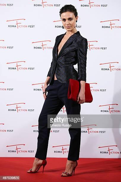 Gabriella Pession attends the Red Carpet Il Sistema at Cinema Adriano on November 13 2015 in Rome Italy