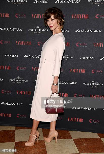 Gabriella Pession attends the 'Roxanne Lowit Magic Moments' party Hosted By Vanity Fair during the 72nd Venice Film Festival at Hotel Bauer Palladio...