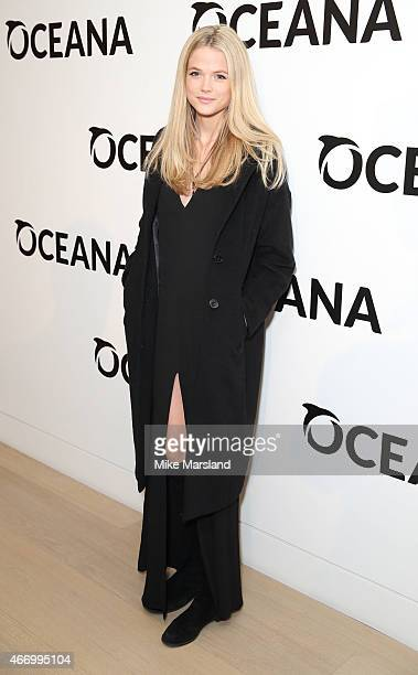 Gabriella Wilde attends the Oceana's Junion Council Fashion For The Future event on March 19 2015 in London England