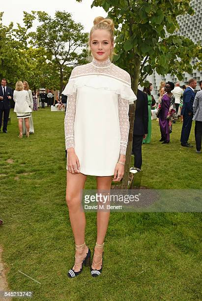 Gabriella Wilde attends The Serpentine Summer Party cohosted by Tommy Hilfiger on July 6 2016 in London England