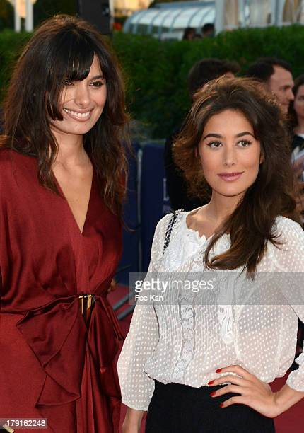 Gabriella Wright and Fanny Valette attend the 'Blue Jasmine' Premiere at the 39th Deauville Film Festival at the CID on August 31 2013 in Deauville...