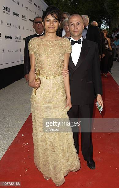 Gabriella Wright and Thierry Klemenink during 2003 Cannes Film Festival Cinema Against Aids 2003 to benefit amfAR sponsored by Miramax Arrivals at Le...
