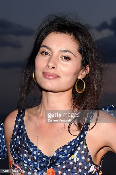 Gabriella Wright attends 62 Taormina Film Fest Day 4 on June 14 2016 in Taormina Italy