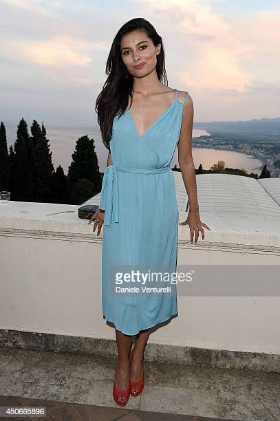 Gabriella Wright attends the 60th Taormina Film Fest on June 15 2014 in Taormina Italy