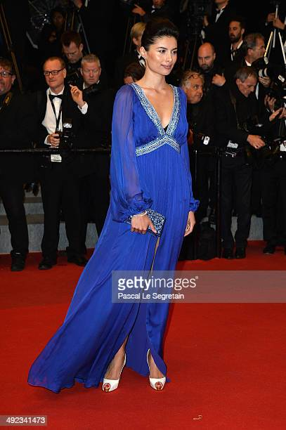 Gabriella Wright attends the 'Maps To The Stars' premiere during the 67th Annual Cannes Film Festival on May 19 2014 in Cannes France