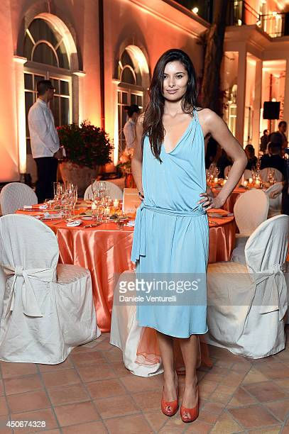 Gabriella Wright attends the World Food Programme Charity Gala Hosted by MASERATI during the 60th Taormina Film Fest on June 15 2014 in Taormina Italy