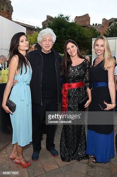 Gabriella Wright Avi Lerner Gisella Marengo and Lina Scalzi attend the 60th Taormina Film Fest on June 15 2014 in Taormina Italy