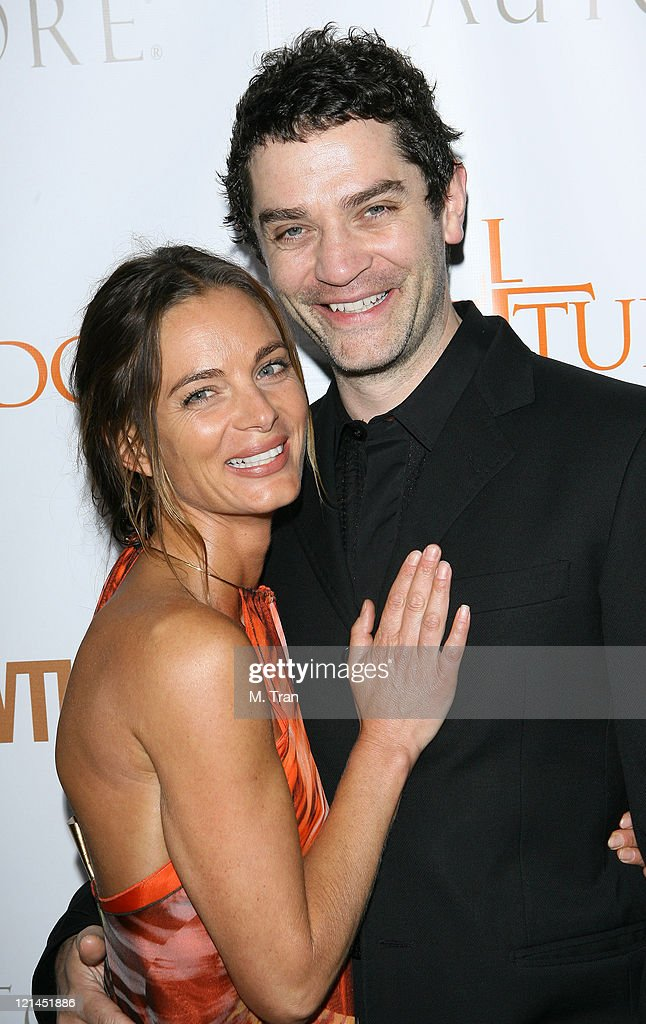 Gabrielle Anwar and James Frain during 'The Tudors' Los Angeles Premiere - Arrivals at Egyptian Theatre in Hollywood, California, United States.