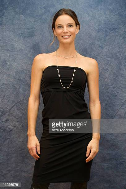 Gabrielle Anwar at the 'Burn Notice' press conference at the Four Seasons Hotel on October 1 2009 in Beverly Hills California