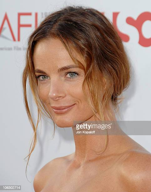 Gabrielle Anwar during 35th Annual AFI Life Achievement Award Honoring Al Pacino Arrivals at Kodak Theatre in Hollywood California United States