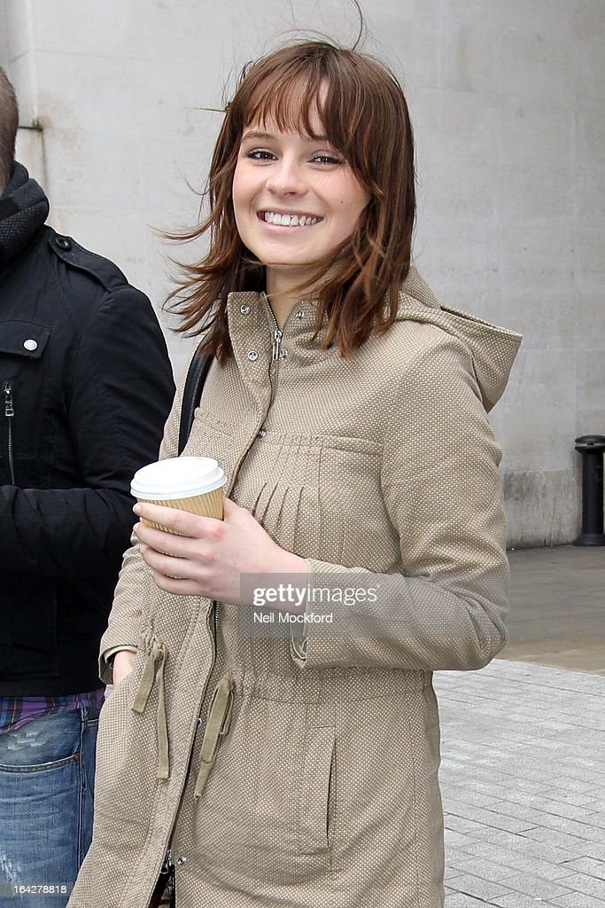Gabrielle Aplin seen at BBC Radio One on March 22, 2013 in London, England.