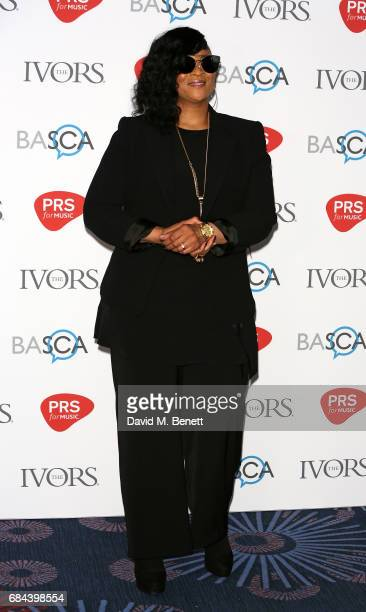 Gabrielle attends the Ivor Novello Awards at Grosvenor House on May 18 2017 in London England