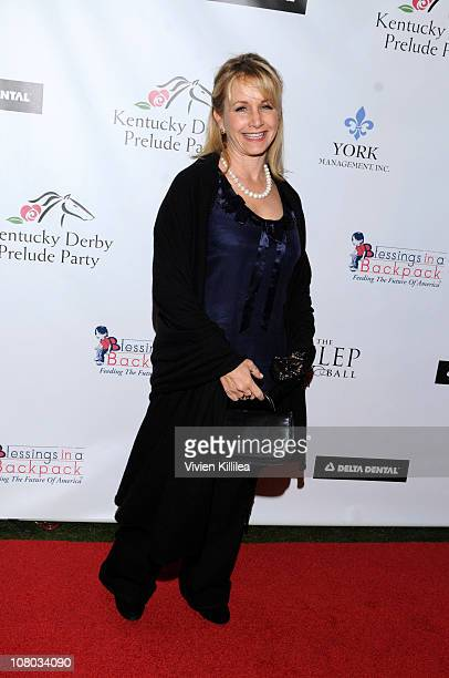 Gabrielle Carteris attends the Kentucky Derby Prelude Party Arrivals at The London Hotel on January 13 2011 in West Hollywood California