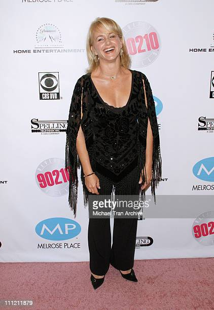 Gabrielle Carteris during 'Beverly Hills 90210' and 'Melrose Place 'DVD Launch Party Arrivals at The Beverly Hilton in Beverly Hills California...
