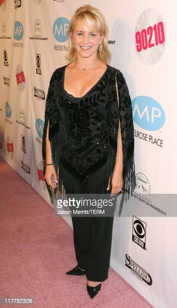 Gabrielle Carteris during 'Beverly Hills 90210' and 'Melrose Place' DVD Launch Party Pink Carpet at Beverly Hilton in Beverly Hills California United...