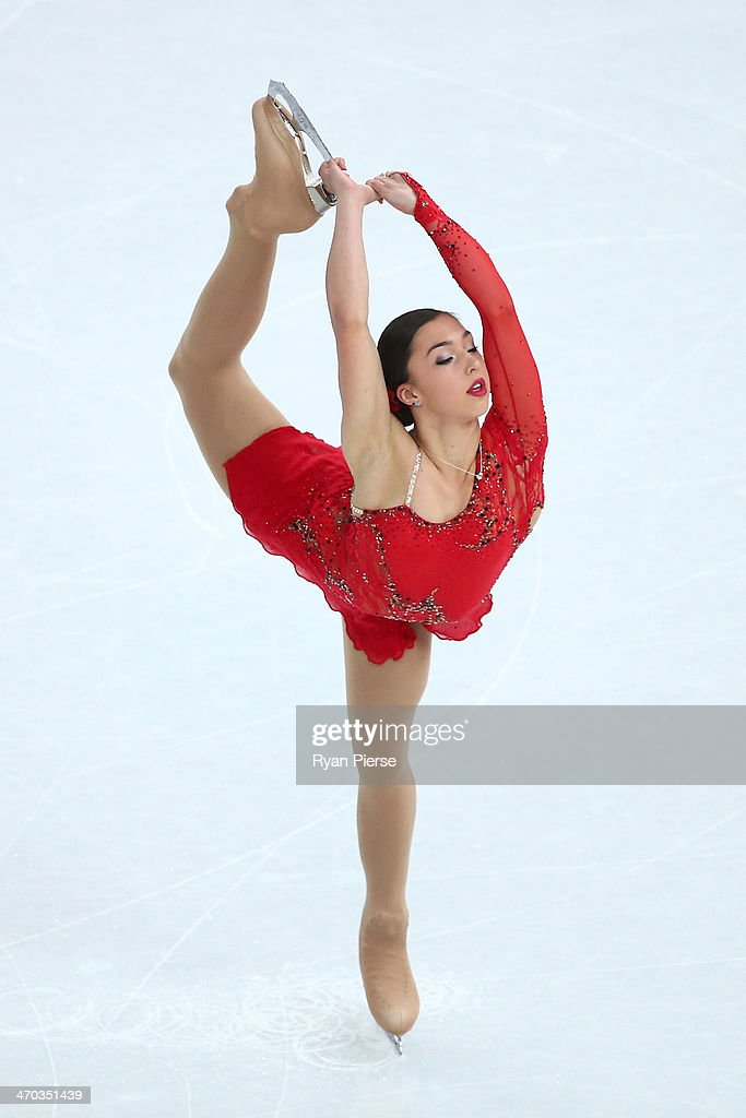 Gabrielle Daleman of Canada competes in the Figure Skating Ladies' Short Program on day 12 of the Sochi 2014 Winter Olympics at Iceberg Skating Palace on February 19, 2014 in Sochi, Russia.