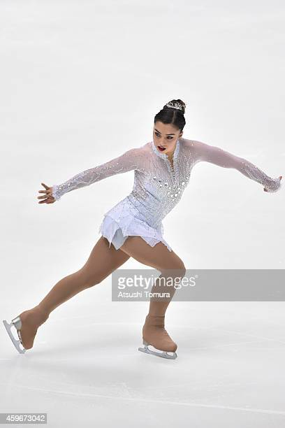 Gabrielle Daleman of Canada competes in the Ladies Short Program during day one of ISU Grand Prix of Figure Skating 2014/2015 NHK Trophy at the...