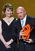 Gabrielle Giffords and Mark Kelly attend Glamour's 23rd annual Women of the Year awards on November 11 2013 in New York City